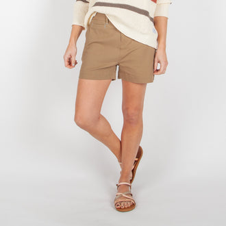Summit Short - Burrow Brown