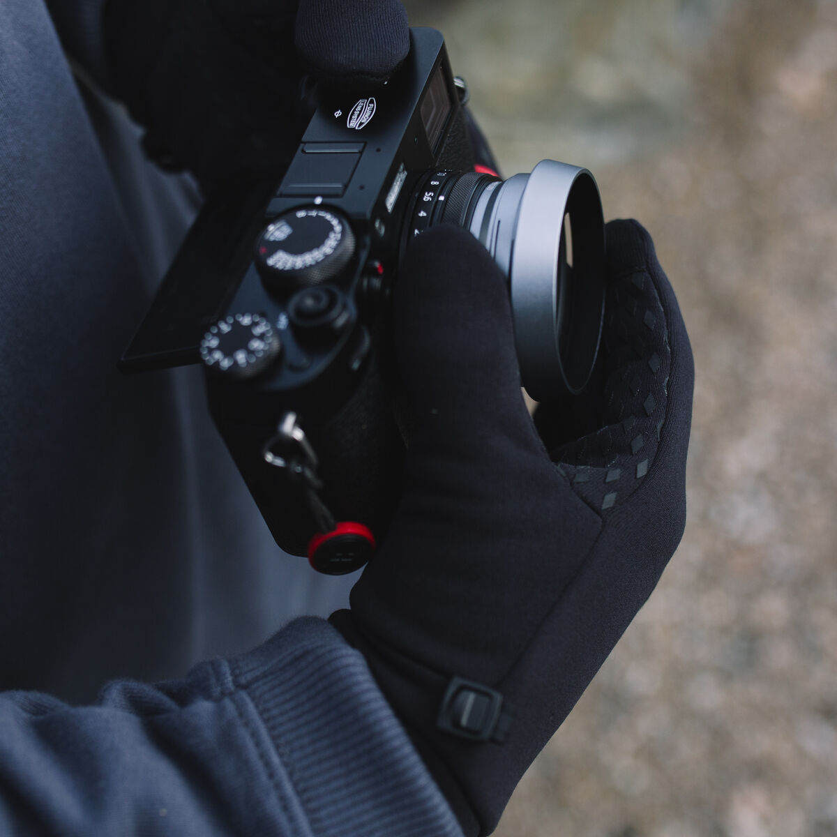 Jackson Gloves - Black image 3