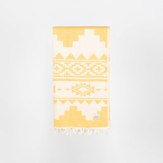 Turkish Towel - Keyhaven Safron
