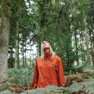Latitude Waterproof Jacket - Rust
