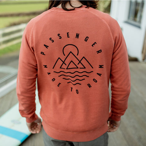 LONEROCK SWEATSHIRT - MANGO ORANGE