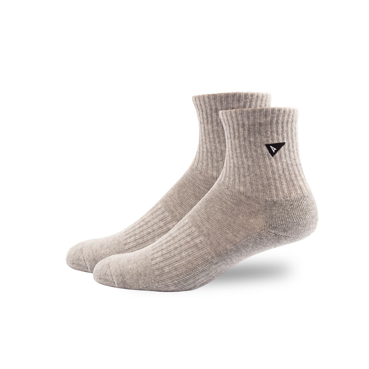 Arvin Goods Mini Crew Plant Dye Socks - Grey image