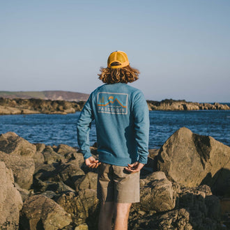 Made To Roam Sweatshirt - Niagra Blue Marl