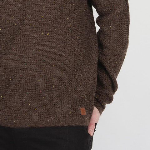 Alder Knitted Sweater - Bracken