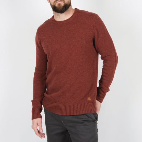 Wagon Knitted Sweater - Orange