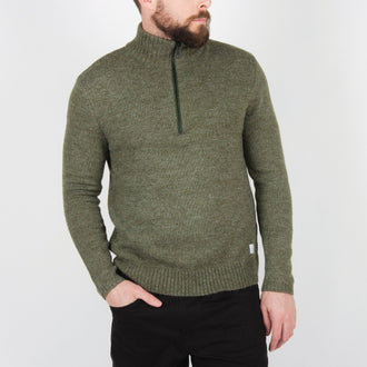 Windlip Knitted Sweater - Green