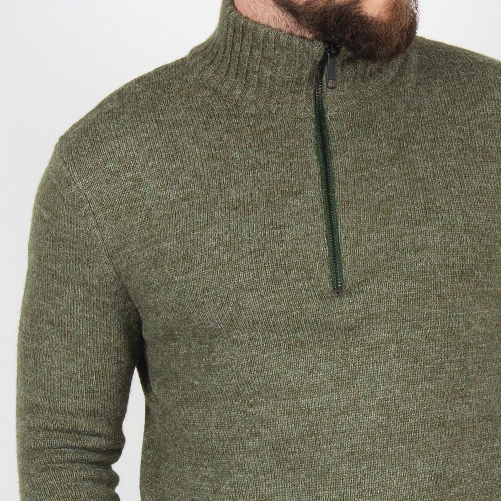 Windlip Knitted Sweater - Green image 4