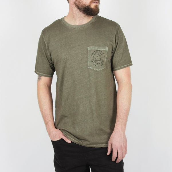 Canopy T-Shirt - Moss Green