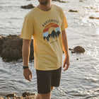 Mexicali T-Shirt - Misty Yellow Marl