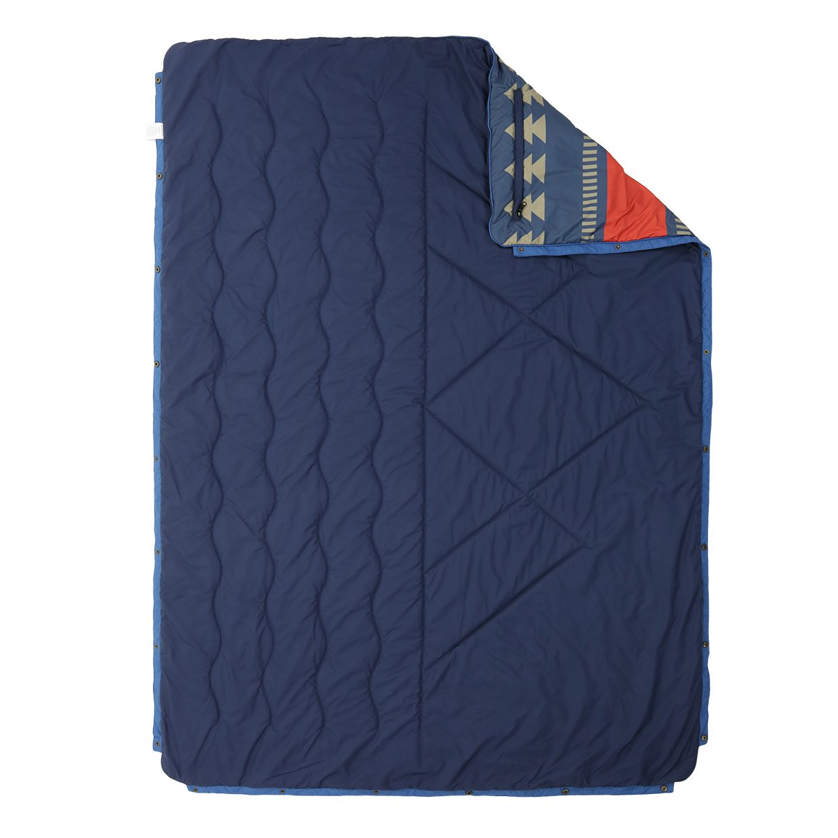 Nomadics 1 Person Insulated Blanket - Navy/Red image 4