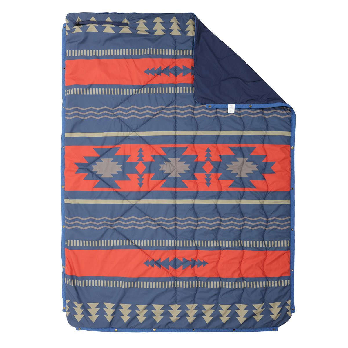 Nomadics 1 Person Insulated Blanket - Navy/Red image 2