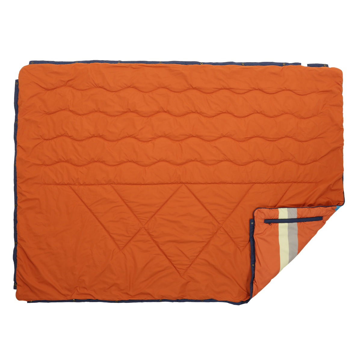 Nomadics 1 Person Insulated Blanket - Rust image 2