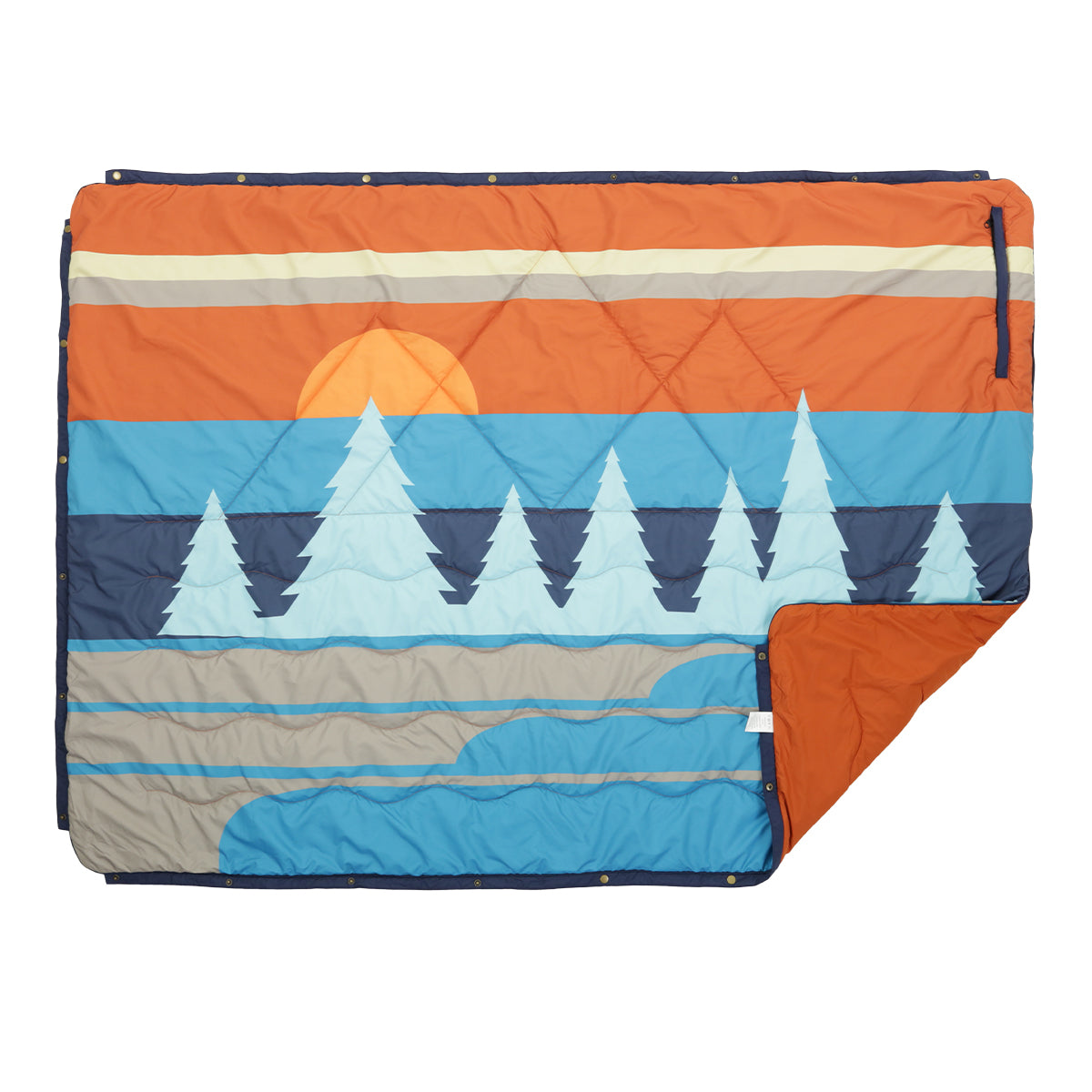 Nomadics 1 Person Insulated Blanket - Rust image 1