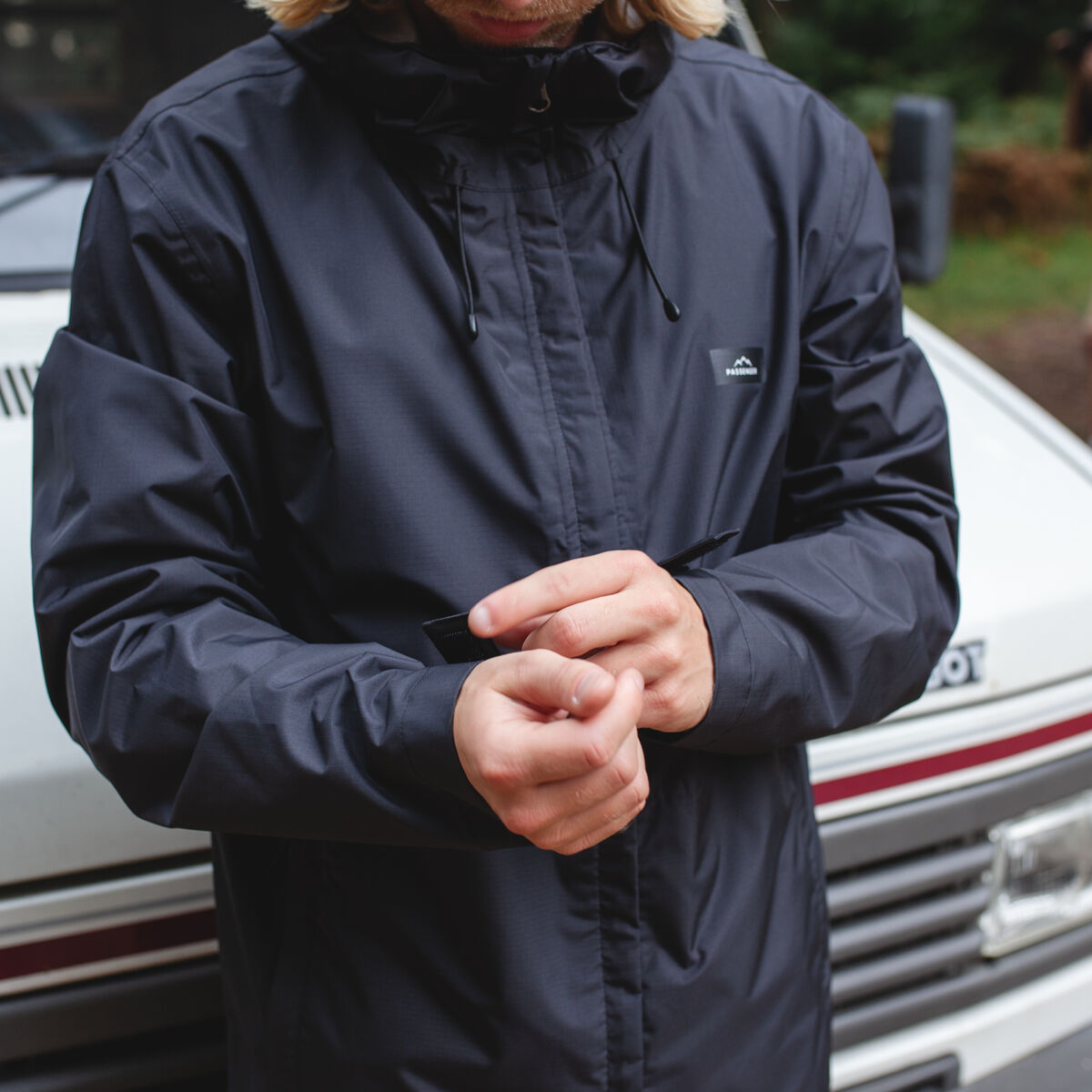 Norcal Waterproof Jacket - Black image 4