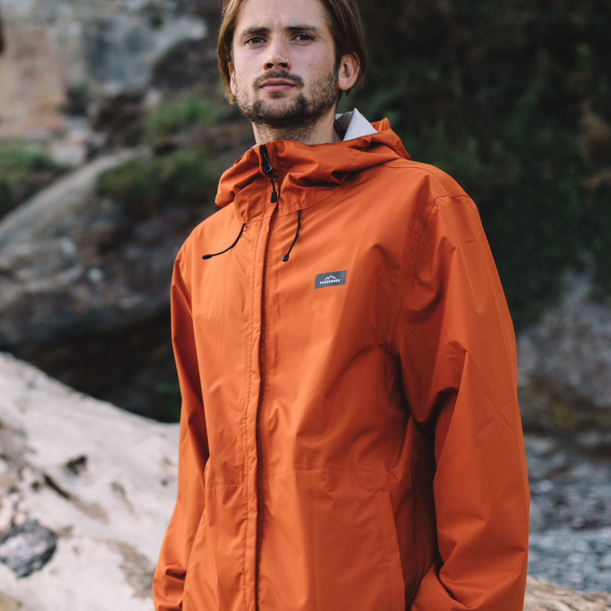 Norcal Waterproof Jacket - Rust image 1