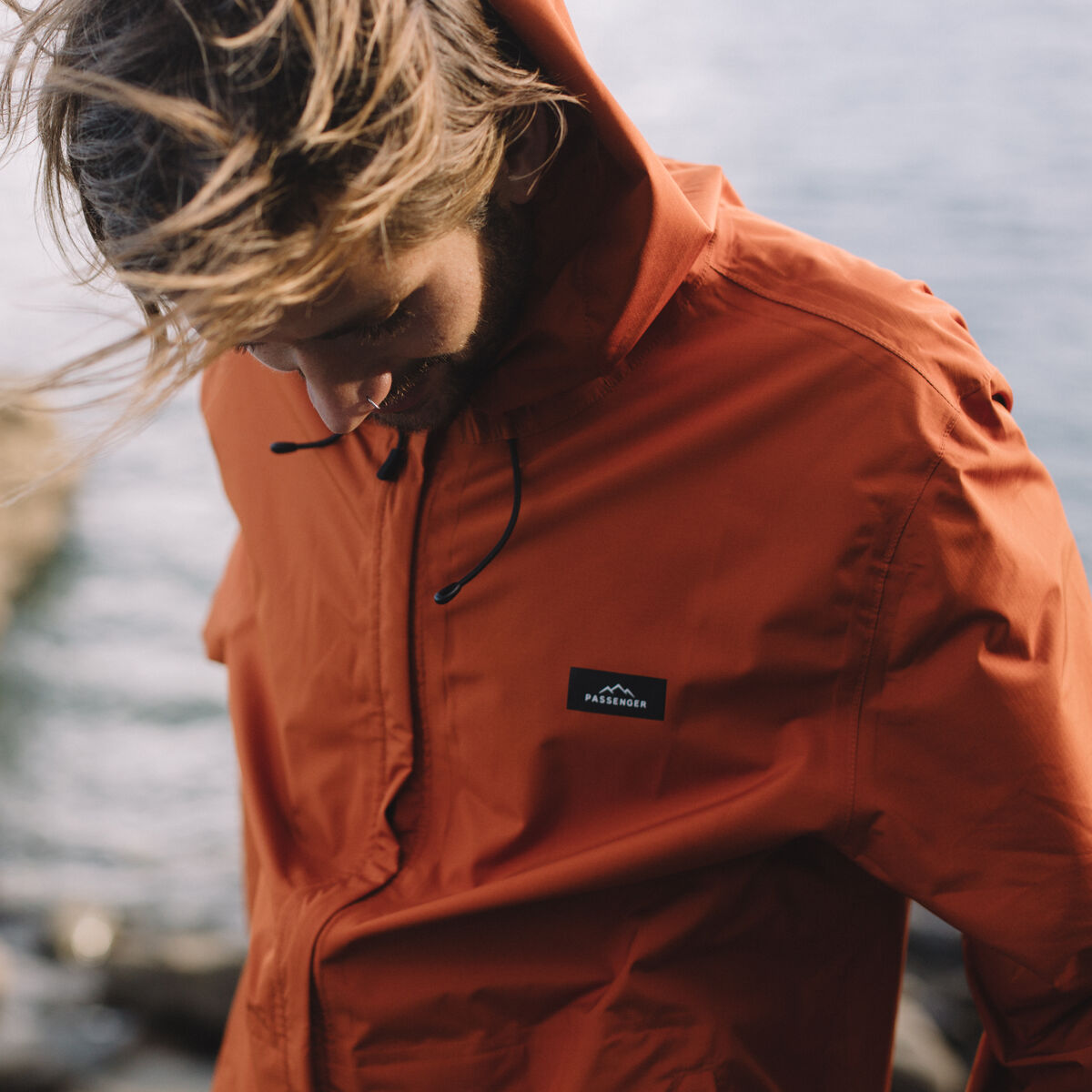 Norcal Waterproof Jacket - Rust image 2