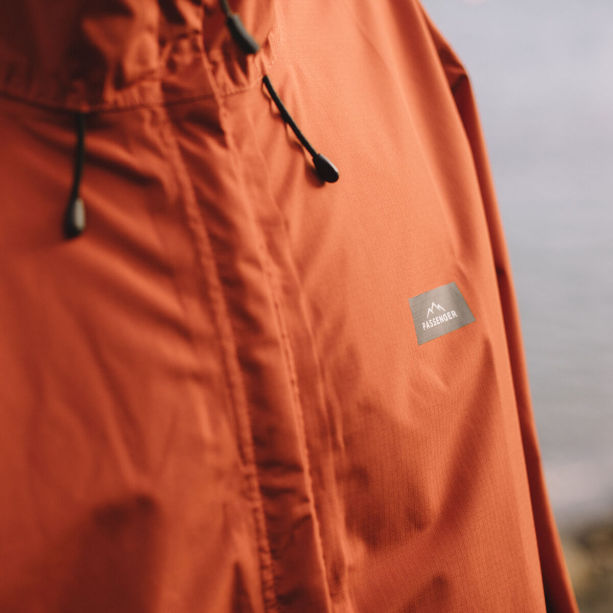 Norcal Waterproof Jacket - Rust image 10
