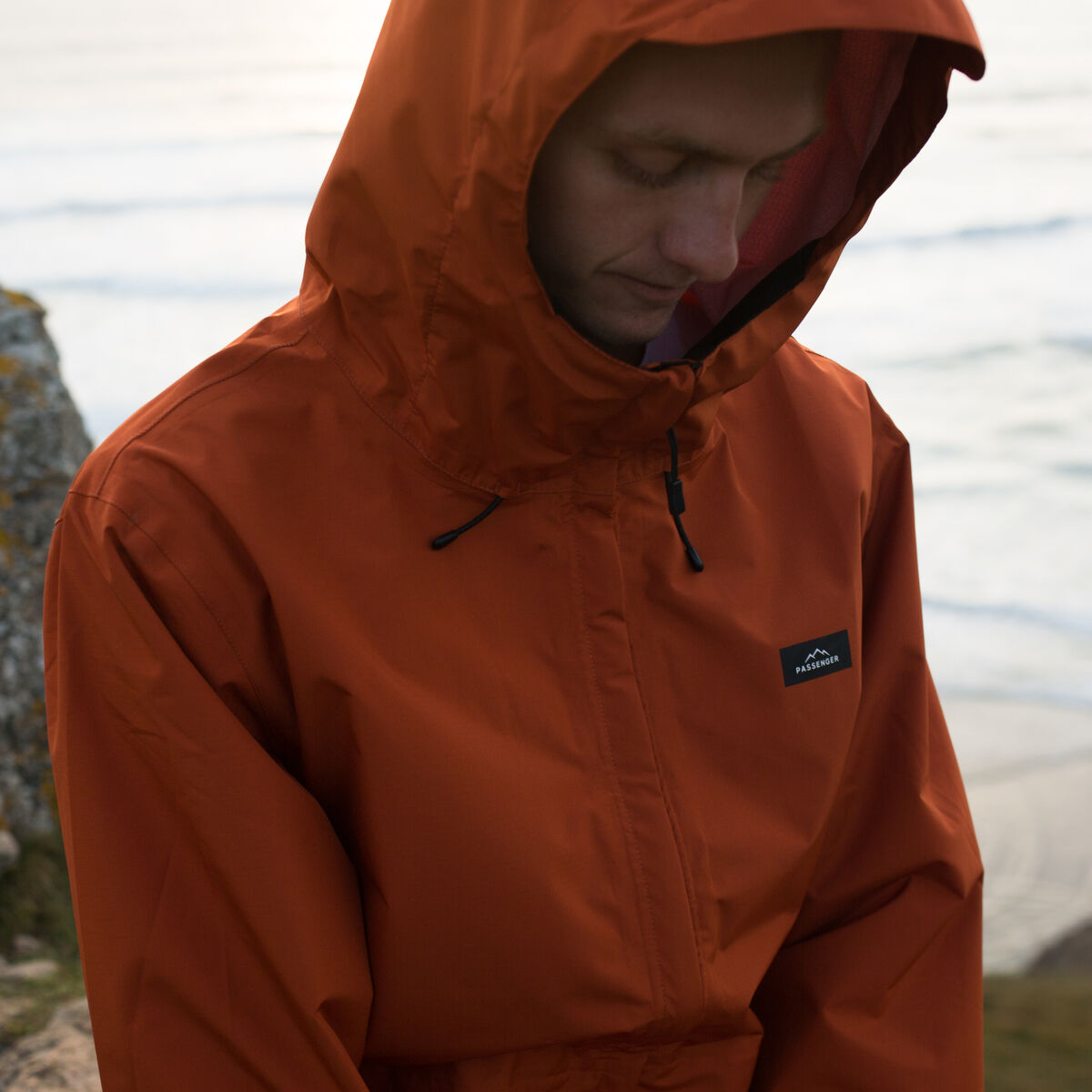 Norcal Waterproof Jacket - Rust image 4