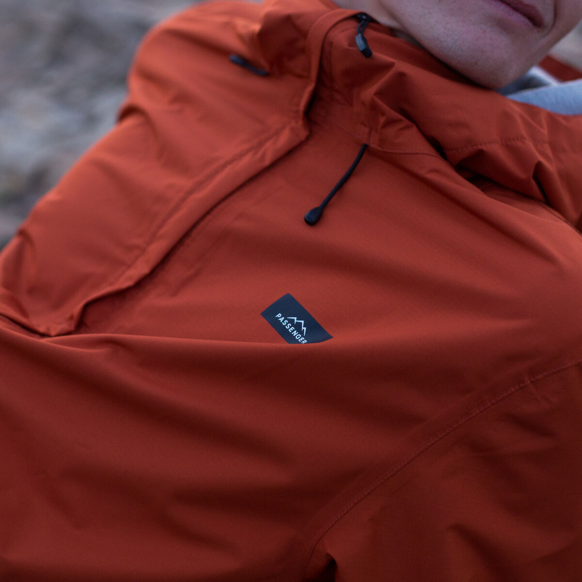 Norcal Waterproof Jacket - Rust image 8