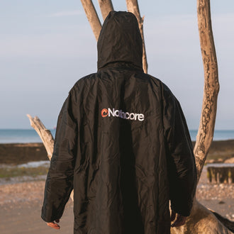 Northcore Beach Basha Sport L/S - Black