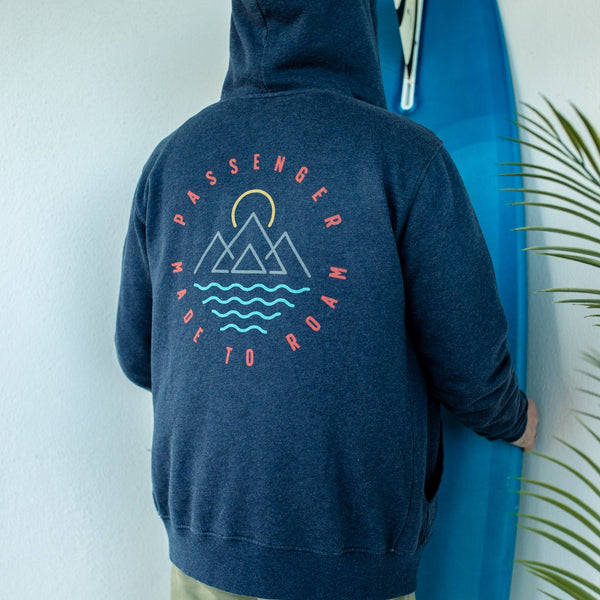 NOTION HOODIE - BLUE NIGHTS MARL