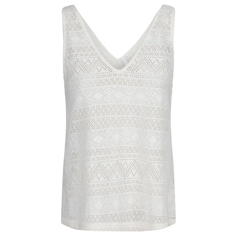 Odyssey Top - Antique White
