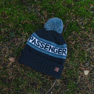 Original Bobble Hat - Charcoal, Light Grey, Black, White