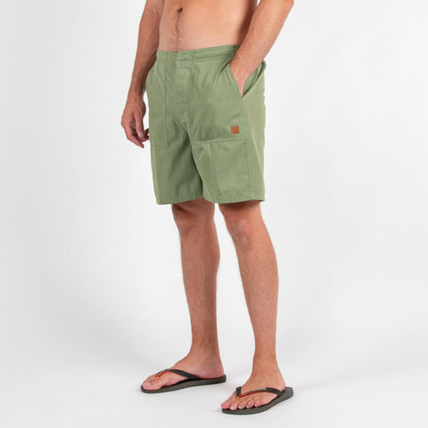 Orinoco Hybrid shorts - Forest Green