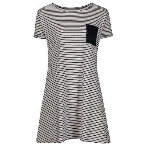 Orca Stripe Dress