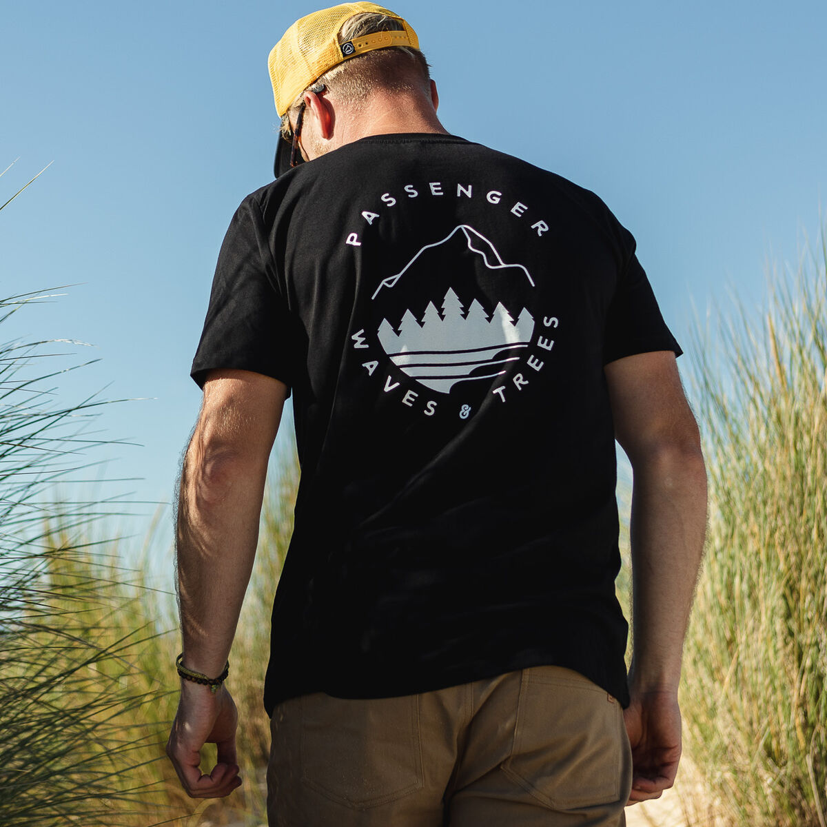Pacific City  T-Shirt - Black image 1