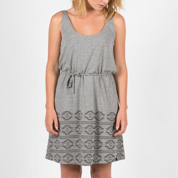 Flow Dress - Heather Grey