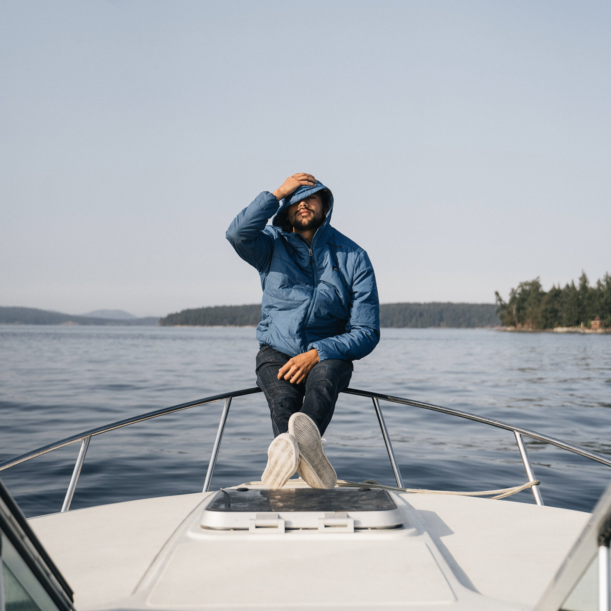 Patrol Insulated Jacket - Deep Water Blue image 4