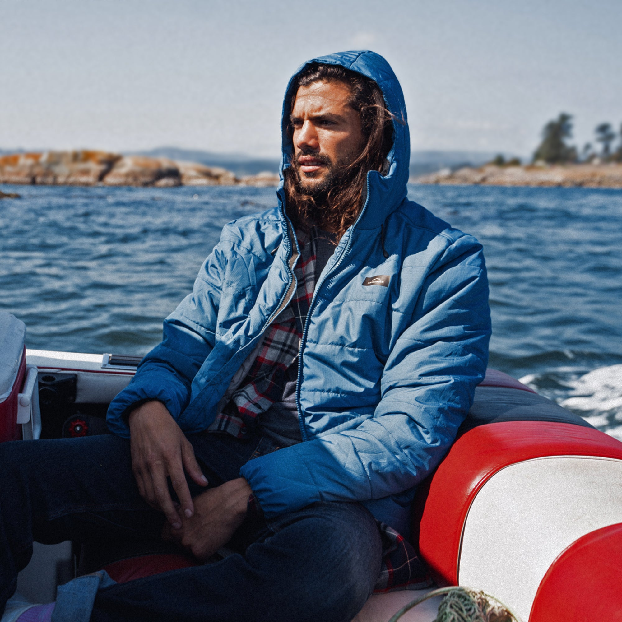 Patrol Insulated Jacket - Deep Water Blue image 8