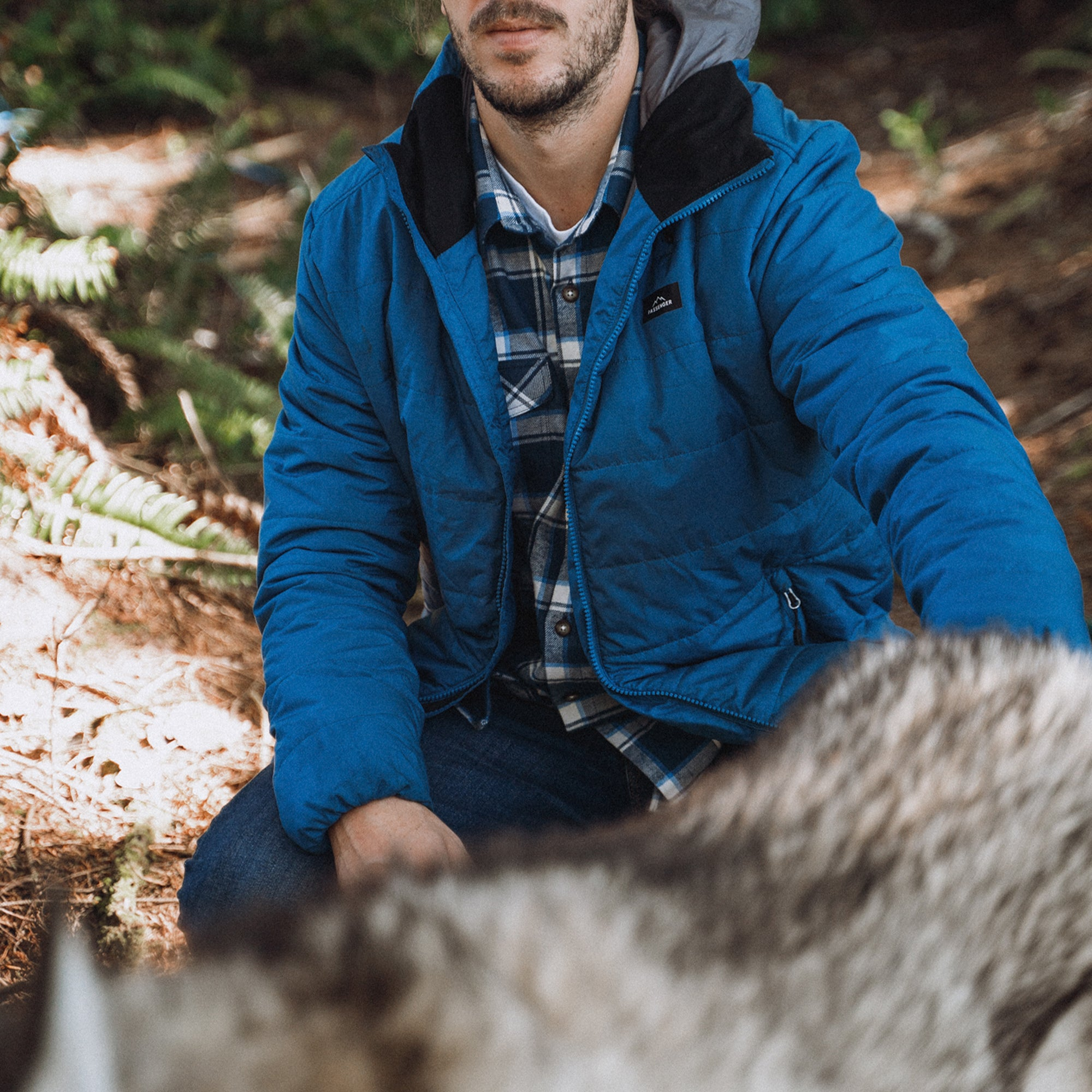 Patrol Insulated Jacket - Deep Water Blue image 5