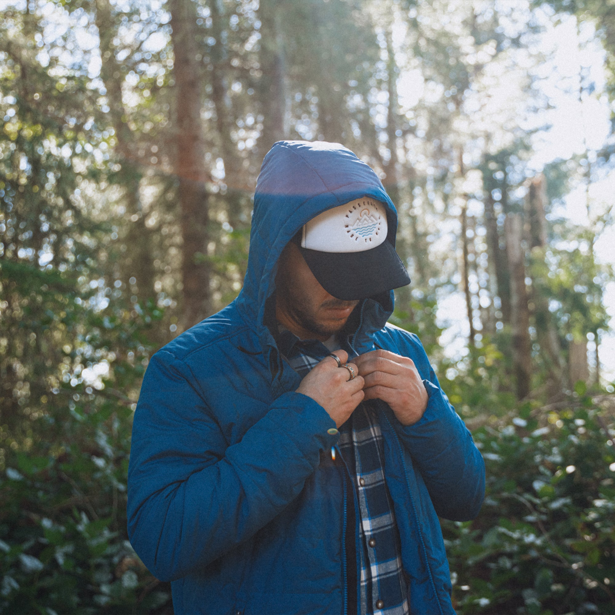 Patrol Insulated Jacket - Deep Water Blue image 7