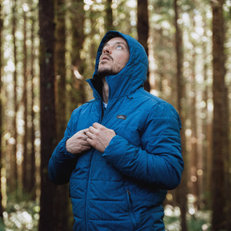 Patrol Insulated Jacket - Deep Water Blue
