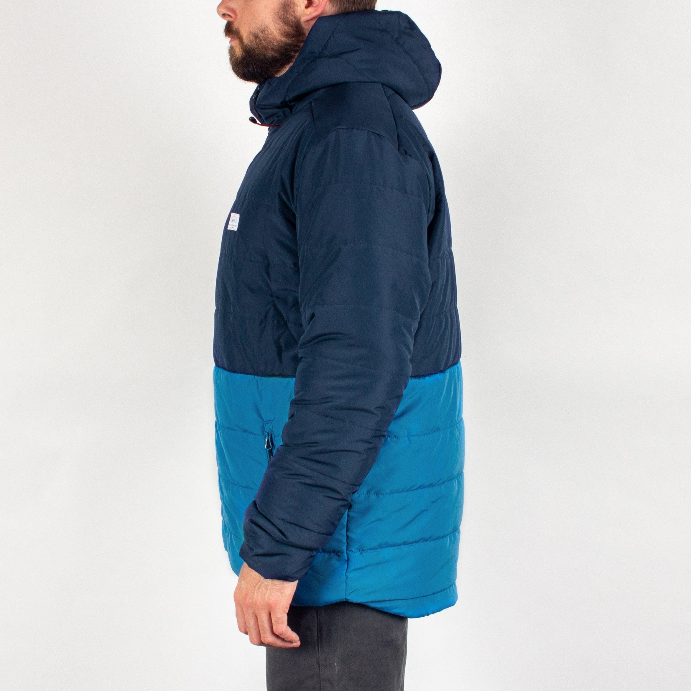 Patrol Insulated Jacket - Navy/Deep Water Blue image 4