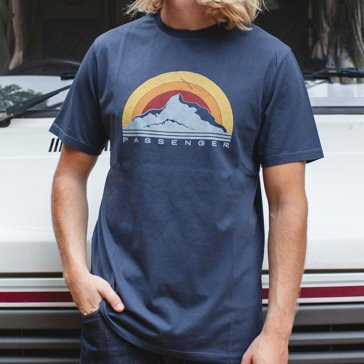 Peak T-Shirt - Blue Nights image 2