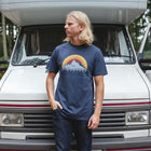 Mens Peak T-Shirt - Blue Nights