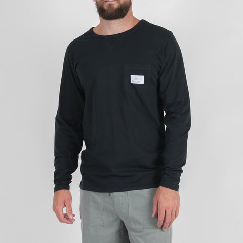 Roller Long Sleeve T-shirt - Asphalt Grey