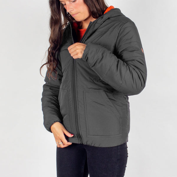 Rowan Insulated Jacket - Ebony Charcoal