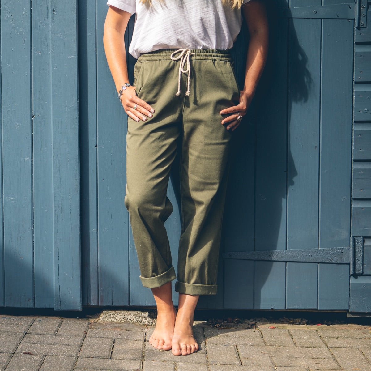 Roydon Trousers - Leaf Green image 1