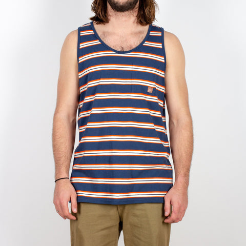 Shaper Vest - Blue Nights Stripe