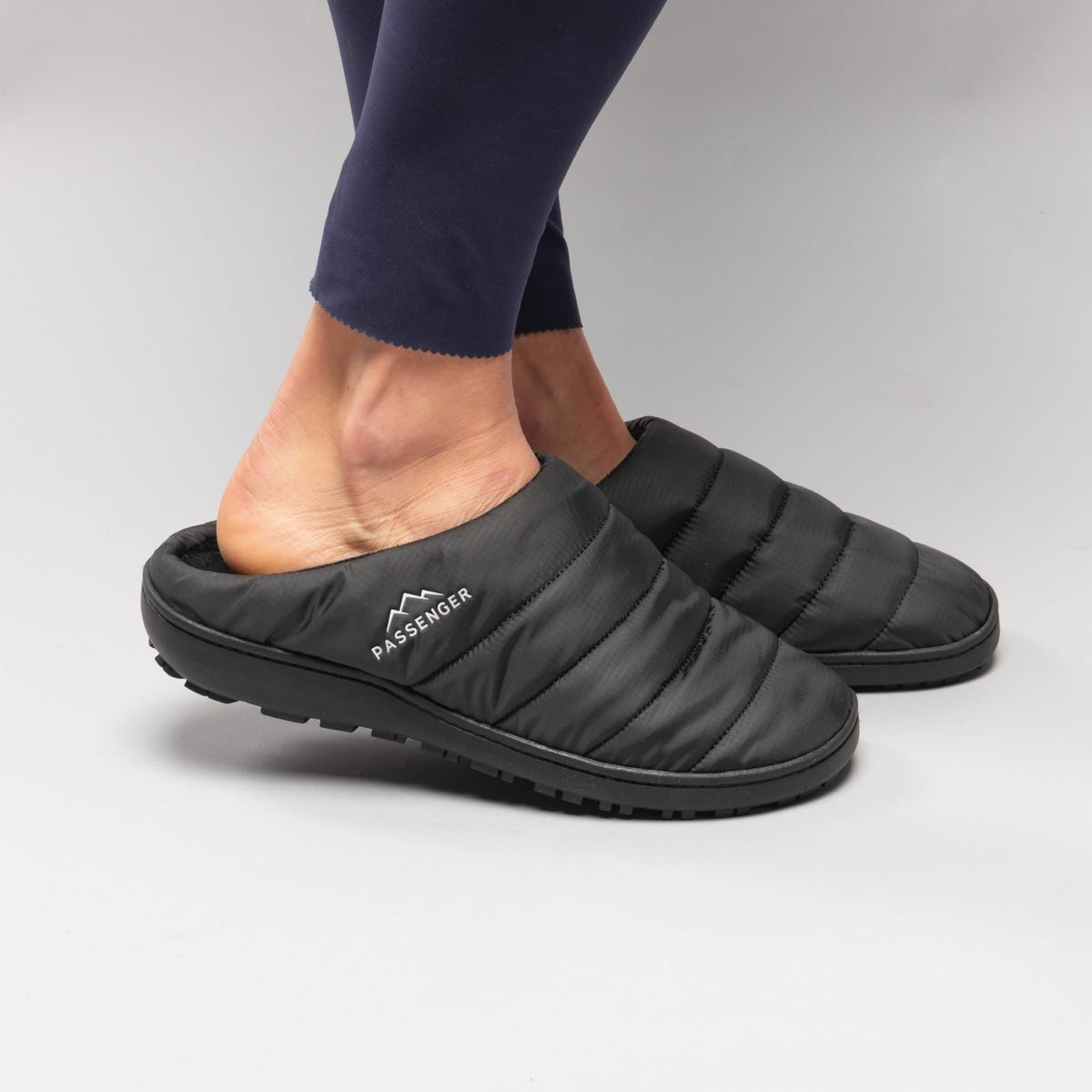 Sole Slipper - Solid Black image 2
