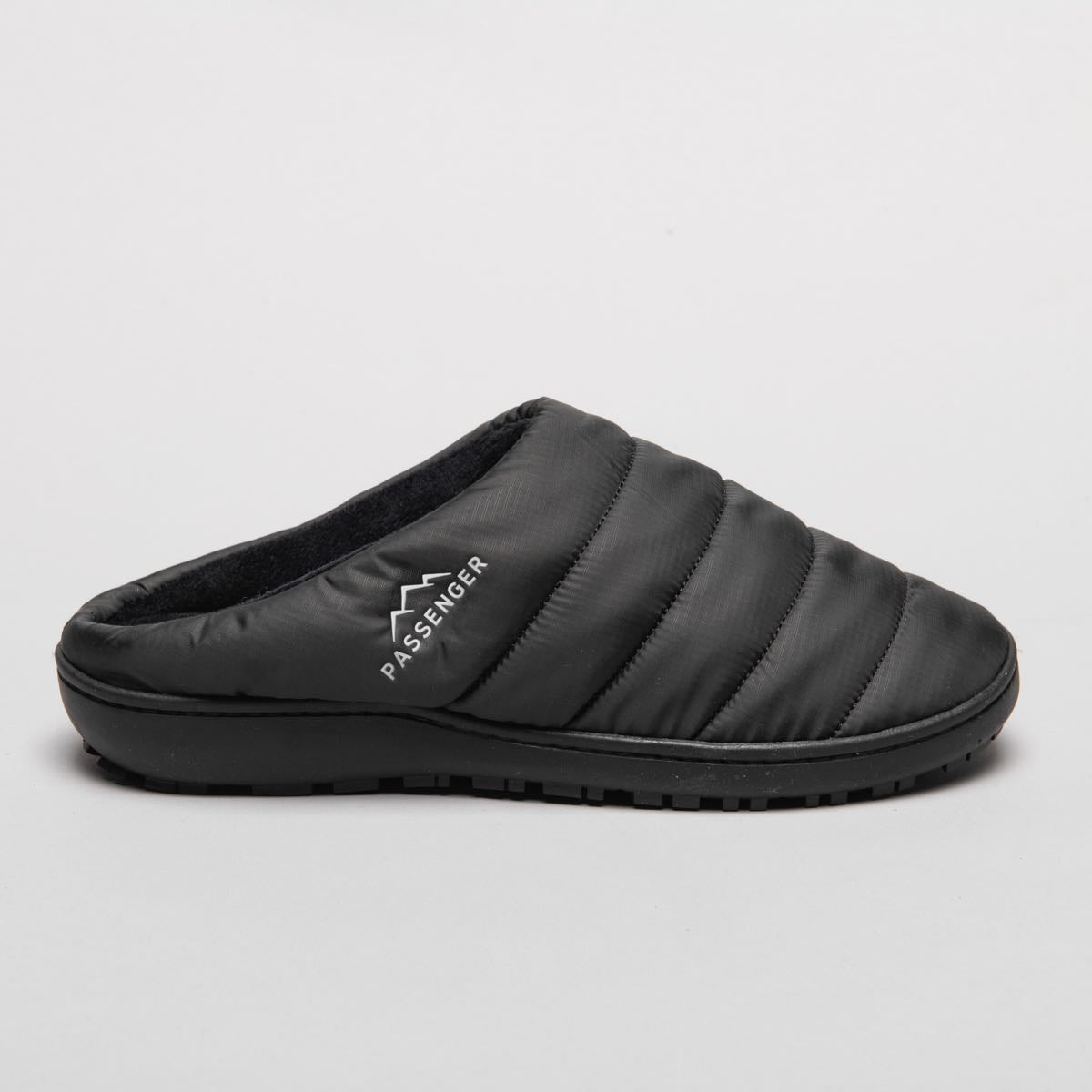 Sole Slipper - Solid Black image 1