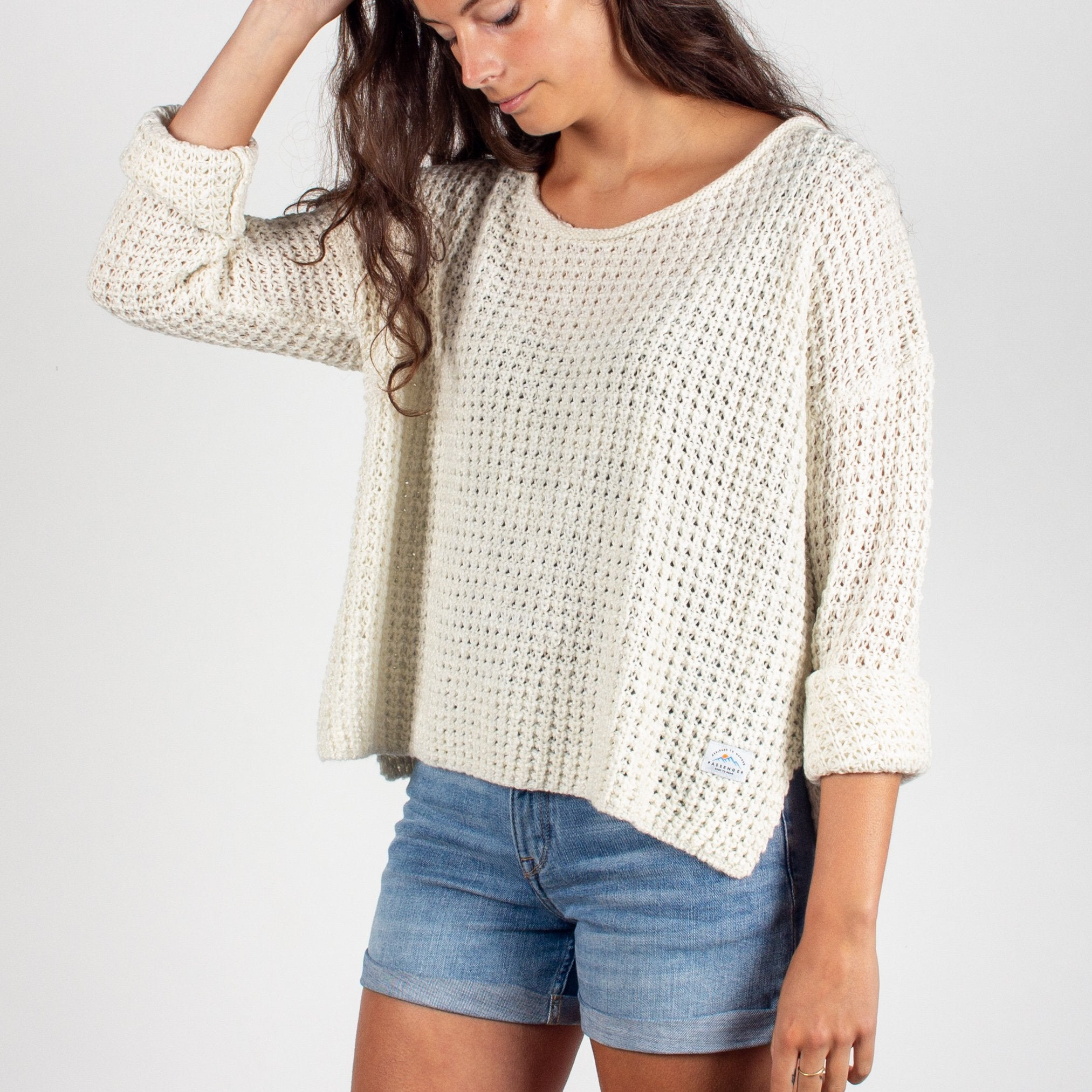 Story Knitted Sweater - Cream image 3