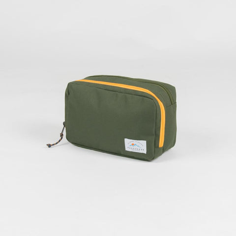 Stream Wash Bag/Travel Cube - Olive
