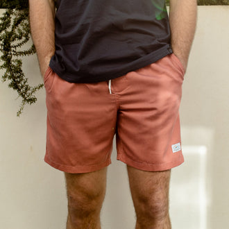 Tahoe Hybrid Shorts - Mango Orange