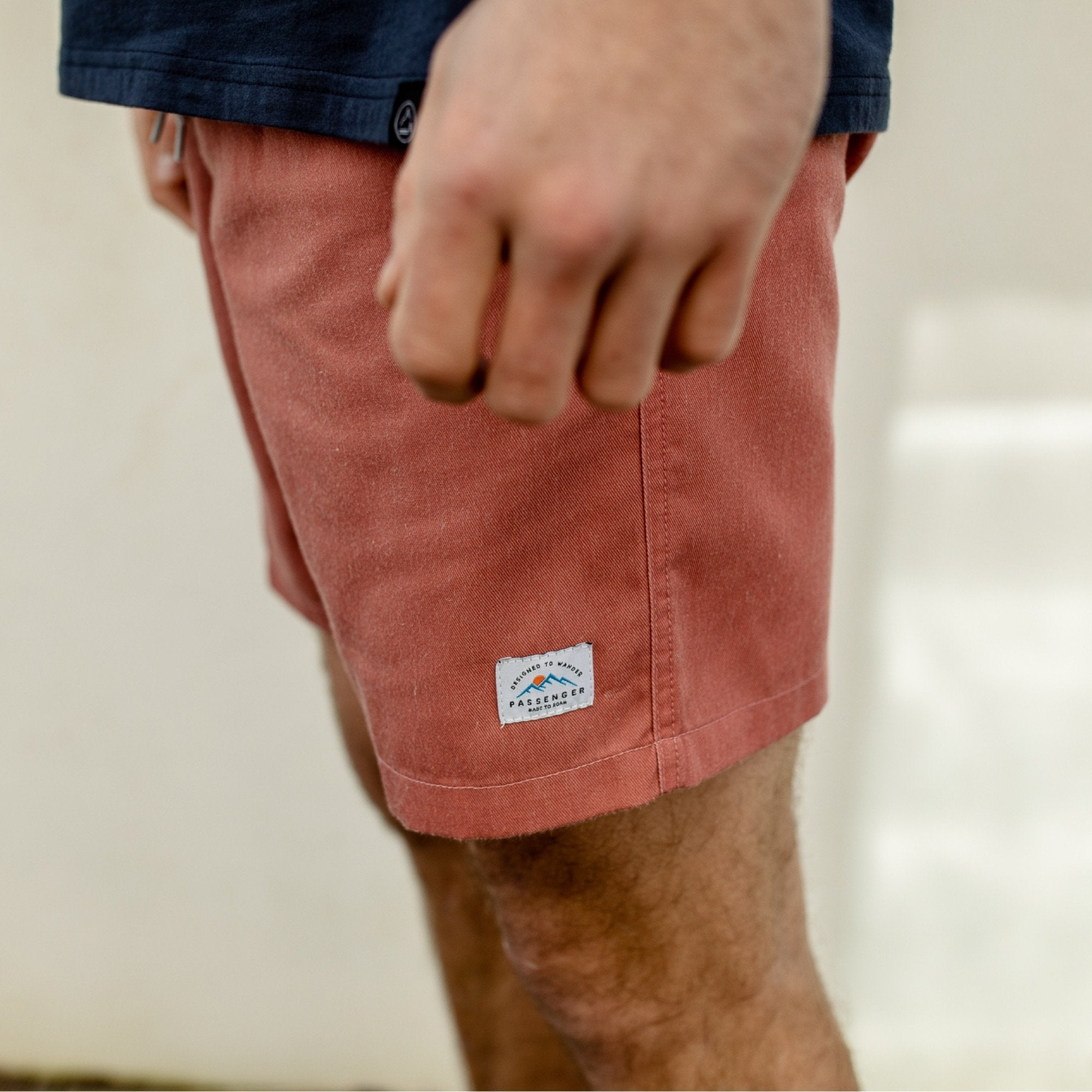 Tahoe Hybrid Shorts - Mango Orange image 3