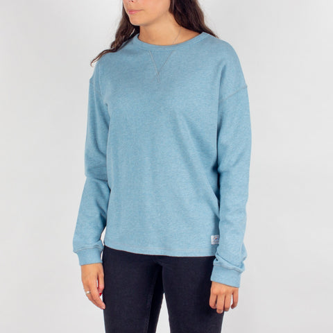 Thaw Mid Weight Top - Sea Blue